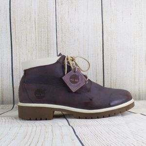 Timberland Waterproof Purple Nubuck Suede Boot 8.5